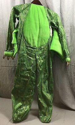 Pottery Barn Kids Green Dragon Halloween Costume 7-8