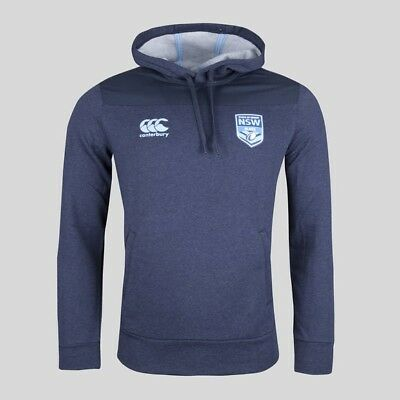 NSW New South Wales State of Origin 2018 Hooded Rugby Sweat Hoodie Size Small