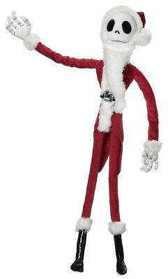 The Nightmare Before Christmas Jack Skellington Sandy Claws 27-Inch Plush Figure