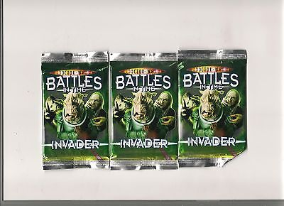 Dr Who Cards - Battles In Time - Invader Booster Pack Brand New Sealed