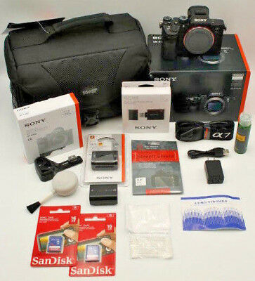 NEW Sony Alpha a7 III A7 3 Mirrorless Digital Camera Body only Bundle IN STOCK