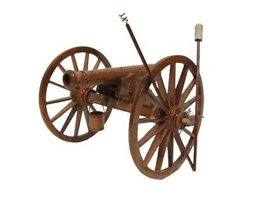 The Napoleon 12 Pounder Civil War Cannon Army Field Artillery Wood Wooden Model