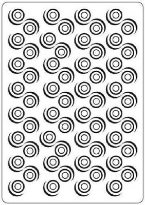 Crafts-Too Embossing Folder Swirl 4.25x5.5