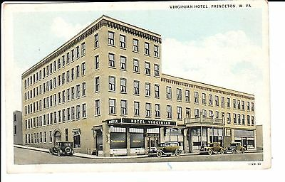 1920's The Virginian Hotel in Princeton, WV West Virginia PC