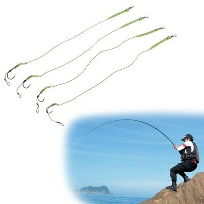 5 Pcs/Bag Carp Fishing Hook with Plugs Tackle Barbed High Carbon Steel 2#4#6#8#