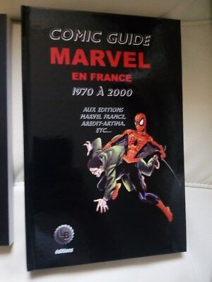 Comic guide MARVEL en France 1970 à 2000 strange