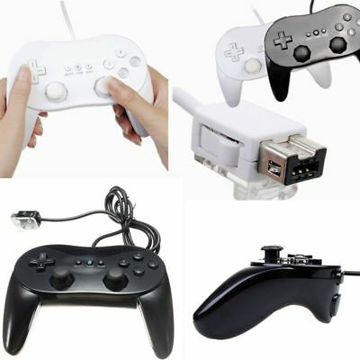 Classic Controller Pro Remote Joypad Game pad For Nintendo Wii Wii U Console