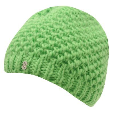 Spyder Womens Ladies Chill Ski Beanie Hats Chunky Knit Cap Headwear Accessories