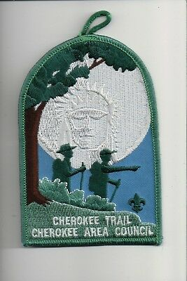 Cherokee Area Council Cherokee Trail patch