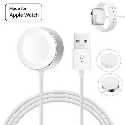 US 1M Magnetic Charger USB Cable For iWatch 42/38mm For Apple Watch Series 1 2 3
