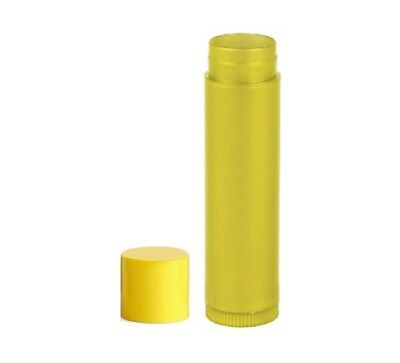 9eeaae7083cf NAKPUNAR 100 PCS 0.15 oz Yellow Empty Lip Balm Tubes- FDA Approved, BPA  Free,