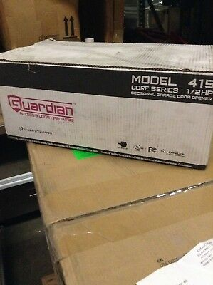 Guardian 415 Sectional Garage Door Opener Motor Core Series 1/2 HP 415CC NEW