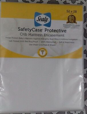 Sealy Safety Case Protective Crib Mattress Encasement Allergist Recommended