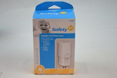 Safety 1st Adapter and Plug Cover, Covers Outlets in Use, Baby Proofing