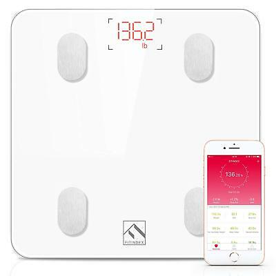 FITINDEX Smart Wireless Digital Bluetooth Body Fat Scale