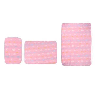 Callowesse Baby Changing Mat Soft Padded Waterproof Wipe Clean Portable Changing Mat Monkey Chevron