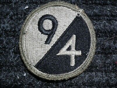 1760 Original Wwii / Ww2 Us Army Patch 94Th Infantry Division
