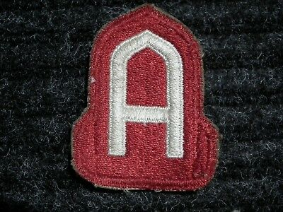 1790 Original Wwii / Ww2 Us Army Patch 14Th Army Ghost Rare