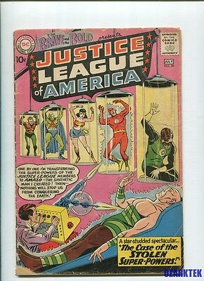 Brave and the Bold #30  3rd Appearance of JLA, 1st Amazo DC Comics 1960