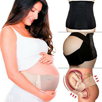 Maternity Support Belt Pregnant Belly Back Brace Waist & Abdomen Girdle Band CFR