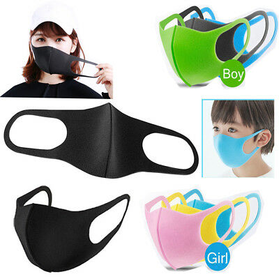 3Pcs/Pack Unisex Anti-Haze Dust Allergy Pollen Peculiar Smell PM2.5 Mouth Mask