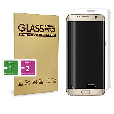 100% Genuine tempered glass screen protector for Samsung Galaxy S6 Edge – Clear