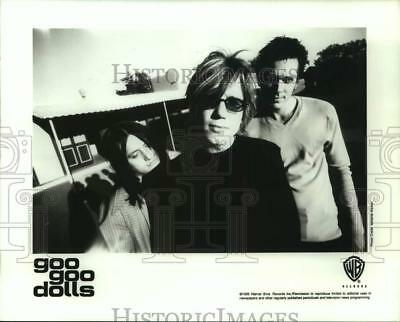 1996 Press Photo Three Members of the band Goo Goo Dolls, Musicians - sap11574