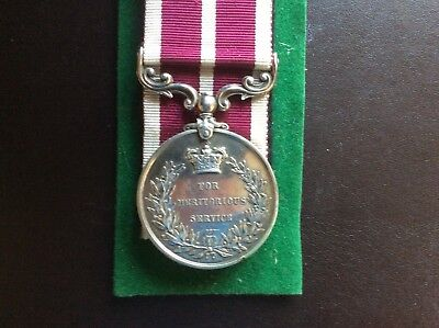 GV MSM medal.12th Lancers,Hitching,Bardfield