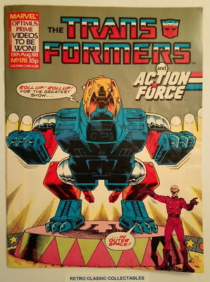 Marvel UK - The Transformers & Action Force - Comic - No.178 - 13th Aug. 1988