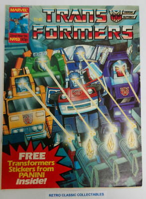 Marvel UK - The Transformers - Comic - No. 53 - 22nd March. 1986 (*2)