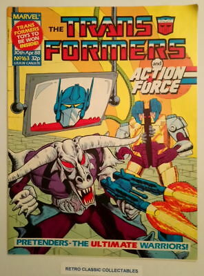 Marvel UK - The Transformers & Action Force - Comic - No.163 - 30th April 1988