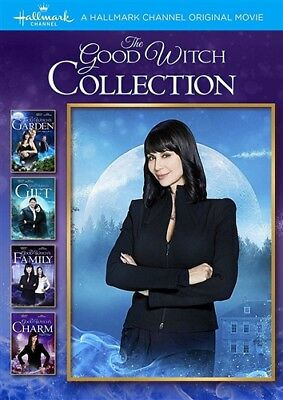 THE GOOD WITCH COLLECTION New DVD Good Witch's Garden + Gift + Family + Charm