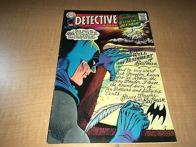 Detective Comics Batman & Robin 1967 DC Comic Book #366 0fg1