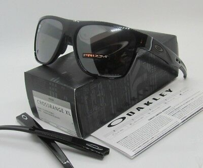 14514a2a39 OAKLEY polished black PRIZM black POLARIZED CROSSRANGE XL OO9360-07  sunglasses!