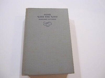 Gone With The Wind Book - Margaret Mitchell - Early First Edition - 1936