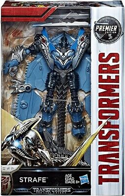 Transformers The Last Knight Premier Deluxe Strafe Action Figure