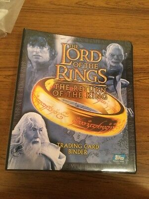 Lord of the Rings - Return of the King - Trading Card Binder w/ 111 Cards Inside