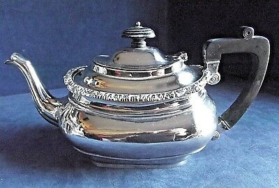 SUPERB Victorian ~ SILVER Plated ~ Bulbous TEAPOT ~ c1890 by Joseph Rodgers