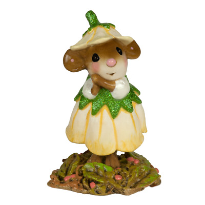 WEE FLOWER MOUSE OF THE MONTH by Wee Forest Folk, WFF# M-640k November Mum