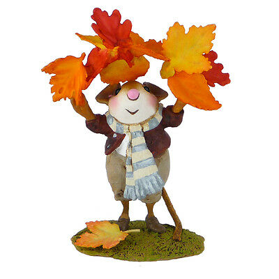 FALL FLING by Wee Forest Folk, WFF# M-493, Fall 2013 Mouse