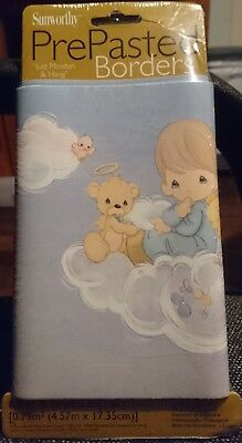 PRECIOUS MOMENTS WALLPAPER BORDER x1 - WALL DECOR - NEW LOOK!