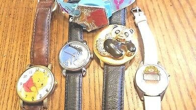 Lot of 5  --- Vintage Character Watches /