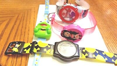 Lot of 4 Vintage Character Watches