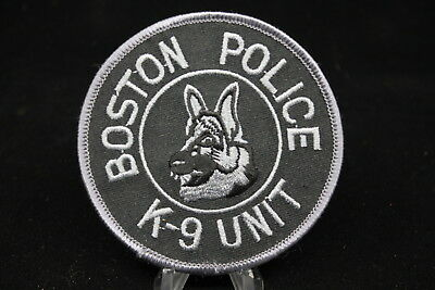 US Boston K9 Unit Tactical Police Patch