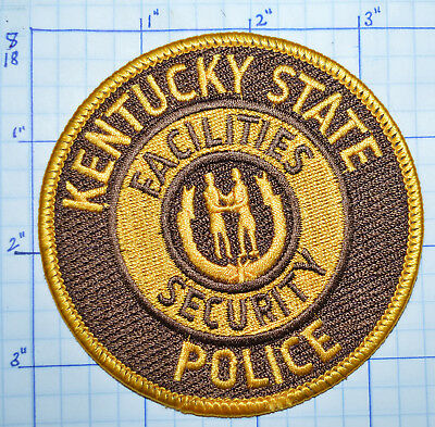 Kentucky State Facilities Security Police Patch