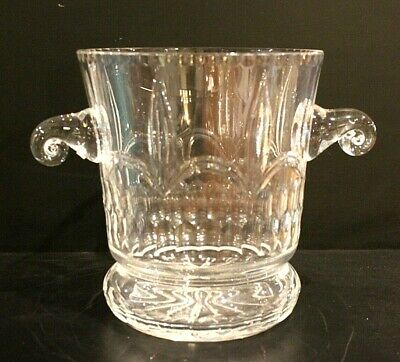 Beautiful, Large French Crystal Champagne Bucket Or Vase. No Cracks Or Chips