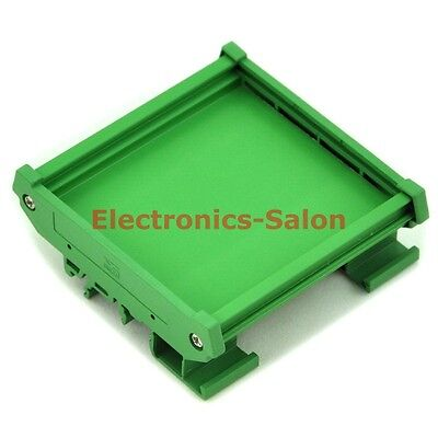 DIN Rail Mounting Carrier, for 72mm x 80mm PCB, Housing, Bracket. x1