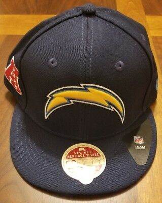 Los Angeles San Diego Chargers New Era 59Fifty Hat Cap Mens Sizes Classic  Wool c4ccdf2e5da0