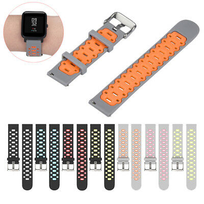 Lightweight Soft Silicone Wrist Band Strap for Amazfit Bip Youth Watch Bracelet