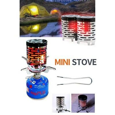 Portable Camping Tent Heater Cap Butane Gas Stove Warmer Heating Cover Outdoor B